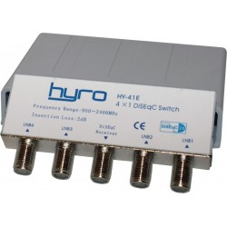 DiSEqC switch 4-1, Hyro, version 2.0