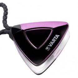 Smart LED lygte til håndtaske - med rem af kunstlæder og magnetlås