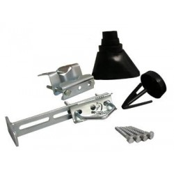 Mounting kit, black. For mounting af antenna masts etc.