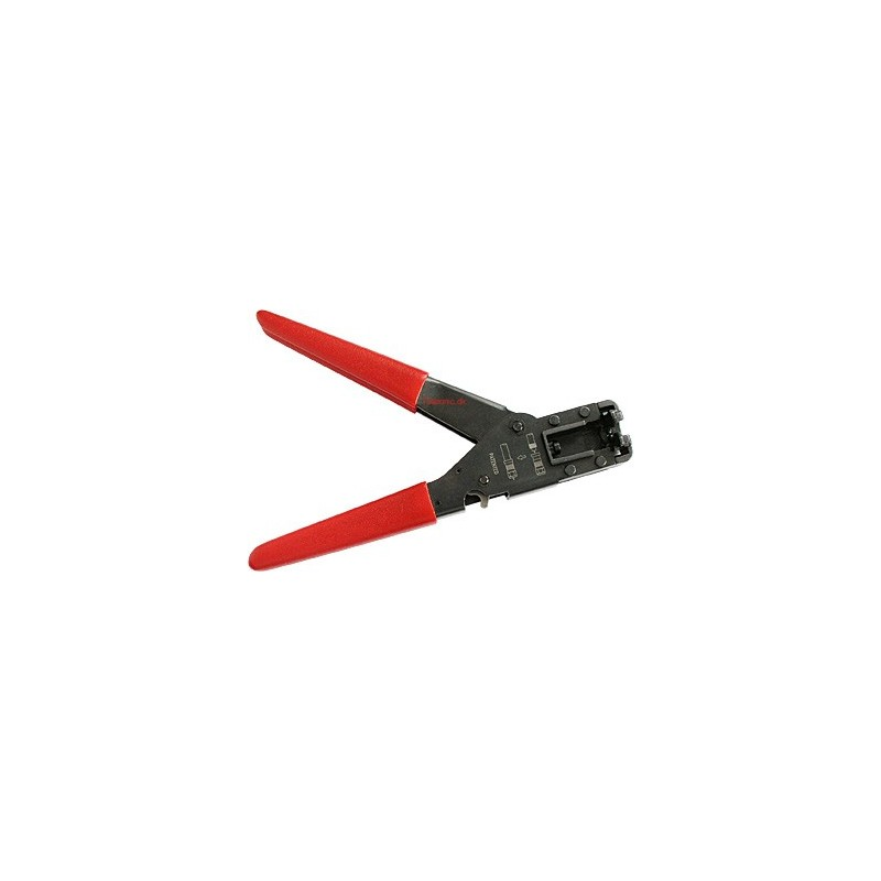 Kompressionstang til kompressions antennestik 20,3 mm. monteret på RG59 og RG6 kabler.