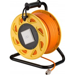 Network Cable CAT7A, RJ45 50 M. cablereel