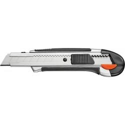 Hobbykniv med knækblade, 18 mm., robust udførelse.