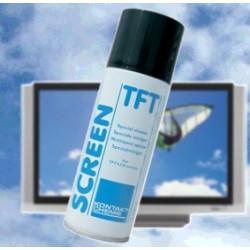 TFT Skærmrens - effektiv skumrens af fladskærme, smartphones og andre glasflader. Efterlader overfladen ren og blank.