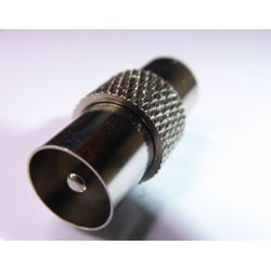 Adapter coax male - coax male joint