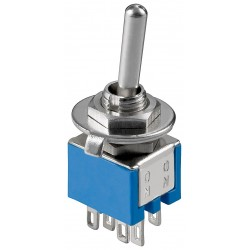 Toggle switch 2x ON-ON mini DPDT