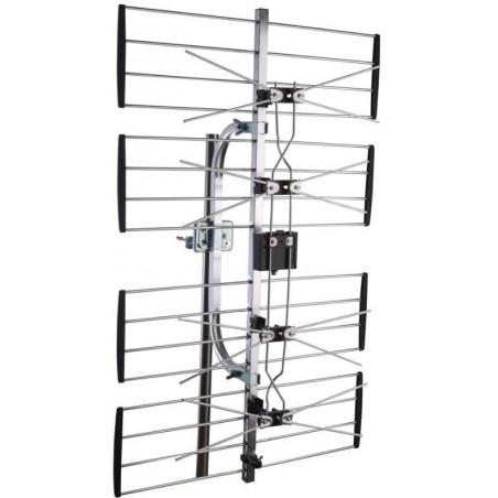 TV Antenne UHF 4 gitterantenne 4G/LTE filter Maximum