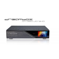 Dreambox DM 920 UHD 4K E2 Linux digitalmodtager 2 x DVB-S2 FBC Dual Tuner til Parabol TV (både SD og HD TV kanaler)