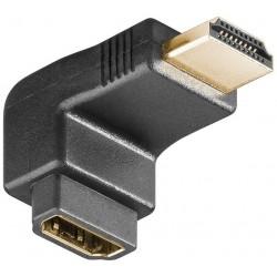 HDMI Vinkelstik 90 grader