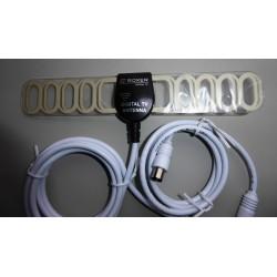 Antenna: DVB-T room antenna KÖNIG KNT-DVBT-IN20   Tektronic dk