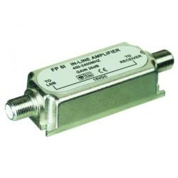 Inline amplifier 450-2400 MHz 20 dB gain.