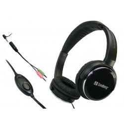 Sandberg Home'n Street Headset, Black
