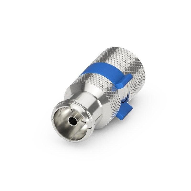 Coax antennestik hun, IEC, til 6,5-8.00 mm. antennekabel, Quick