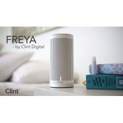 Trådløs højttaler Wi-Fi, AirPlay og DLNA. Clint Freya, Hvid