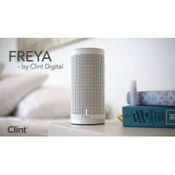 Wireless speaker Wi-Fi, AirPlay and DLNA. Clint Freya, White