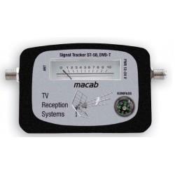 Justering af TV antenne, DVB-T signalmeter / signalstyrkemåler