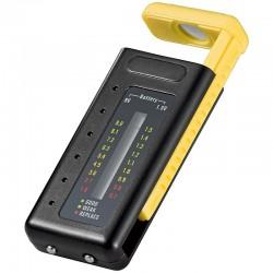 Test om der er strøm på dine batterier. Batteritester med LCD display - test af batterier - se hurtigt nøjagtig ladetilstand på