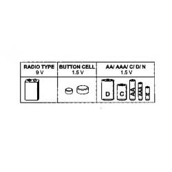 Batteritester med LCD display