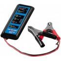 Kompakt batteritester til 12 volts batterier i bil,båd og campingvogn