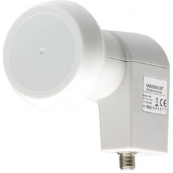 LNB - Maximum Pro line P1 single LNB til parabol