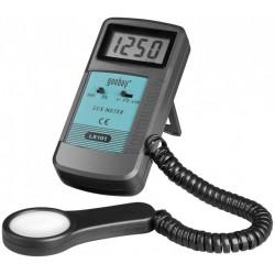 Digitalt luxmeter til hurtig måling af lysstyrke.