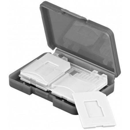 Opbevaringsbox for 4 stk. SD-kort