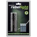 LED Lommelygte Rebellight X130, 130 Lumen.
