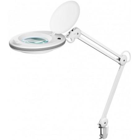 Luplampe med LED diodering,90 LED,125 mm glaslinse, forstørrelse x1.75