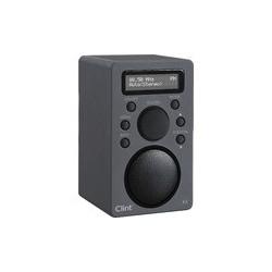 DAB radio med bluetooth - Clint F4 transportabel DAB radio med FM og Bluetooth.
