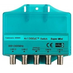 DiSEqC 4-1 switch supermini