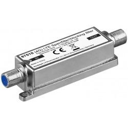 LTE / 4G spærrefilter Indendørs/udendørs - undgå forstyrrelser af dit DVB-T TV signal (F-hun/F-hun tilslutning)