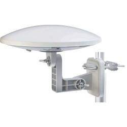 DVB-T2 og FM/DAB antenne (Omnidirectionel). Antenne til campingvogn, båd eller autocamper.