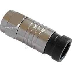 F-type compression connector