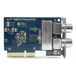 Dreambox DVB-C/T2 tuner Dual / Twin Silicon - udfold potentialet i din Dreambox med en ekstra tuner!