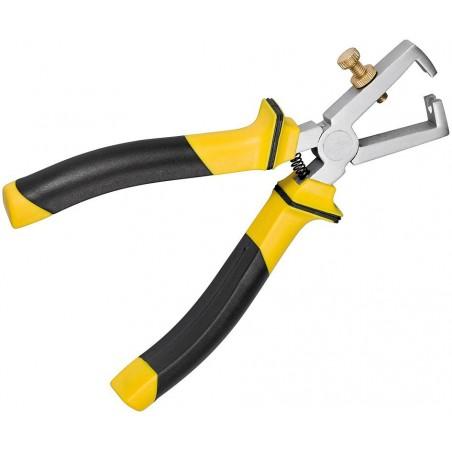 wirestripper plier 165 mm with adjusting screw.