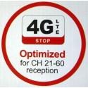 Maximum UHF 14 antenne til digital TV modtagelse. (Boxer TV + frie TV kanaler fra DR )
