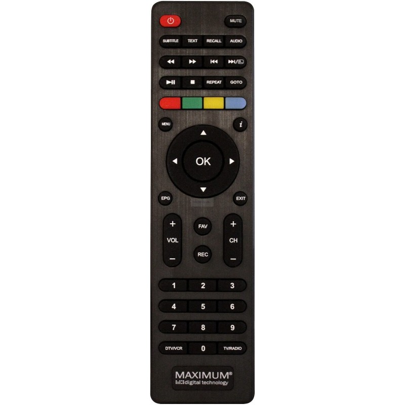 Remote control for Maximum XO-30 STB