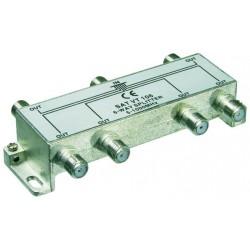 6-vejs splitter,5-1000 MHz. Til TV,radio, Kabel TV