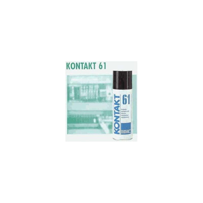 Kontakt 61- Rust preventive lubricant for contacts. Use after cleaning with contact 60 and Spraywash WL.