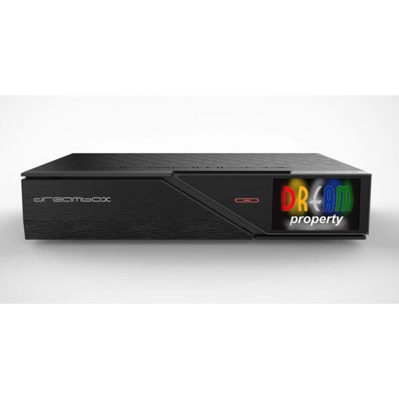 Dreambox DM900 UHD 4K E2 Linux receiver 1x DVB-C/T2 Dual Tuner