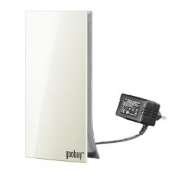 Active DVB-T indoor antenna, white