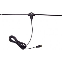40060 Maximum telescopic antenna w. amplifier