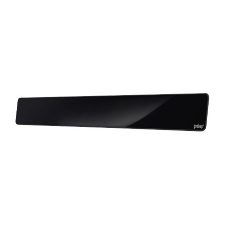 Sort aktiv stueantenne Full-HD DVB-T/DVB-T2/DAB.Soundbar-look
