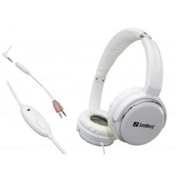 Headset - med svarknap - tilslut direkte til Smartphone