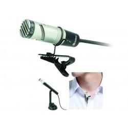 Studio Flex mikrofon til PC eller mobil. Optager lyd i studiekvalitet. Tilsluttes med jack stik.