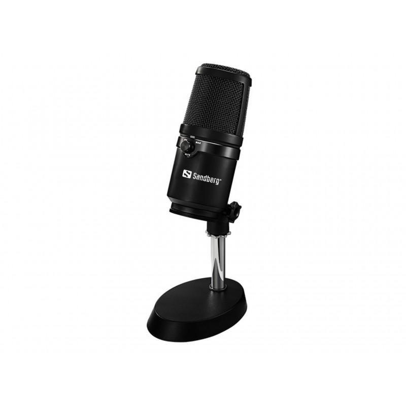 USB mikrofon Studio PRO - virkelig lækker mikrofon til dig der laver youtubes eller gamer... for alvor :)