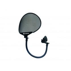 Popfilter som reducerer mislyde i mikrofonen, som ellers kan opstå fra pludselige ændringer i luftstrømmene. Perfekt til at opti