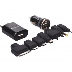 Sandberg Charge Kit AC+Car 1A