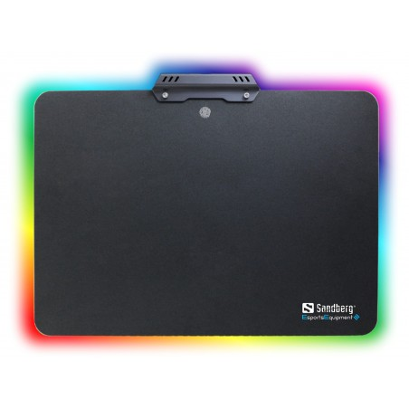 Musemåtte med lys - Touch RGB Aluminium