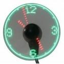Ventilator med LED visning af tid.