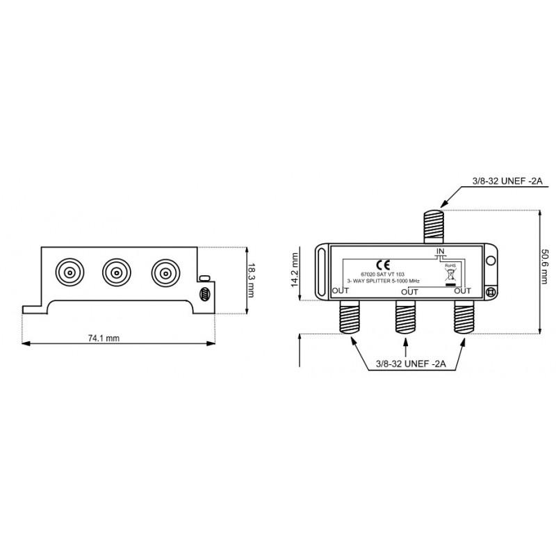 3 Way Splitter Diagram - Wiring Diagrams List